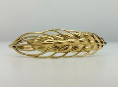 Wheat 16cm Bracelet (small) 3d printed taken with iphone