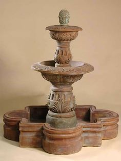 Windsome Fountain with Spanish Bowl, Small
