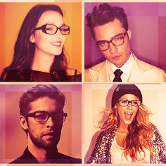 gossip girl in glasses