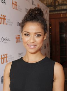 """IMAGE DISTRIBUTED FOR FOX SEARCHLIGHT - Gugu Mbatha Raw attends Fox Searchlight's Premiere of """"Belle"""" at the Toronto International Film Festival on Sunday, Sept. 8, 2013 in Toronto. (Photo by Todd Williamson/Invision for Fox Searchlight/AP Images)"""