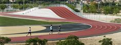 Great for hill runs - 3D Athletics Track / Subarquitectura