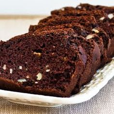 Kalyn's Kitchen: Recipe for Low Sugar and Whole Wheat Chocolate Zucchini Bread