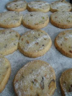 Craft with Ruth Cartwright: Great British Bake off - pistachio shortbread