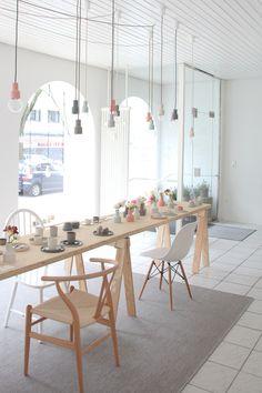 KULØR shop with handmade ceramics in Karlsruhe, Germany