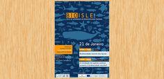 A DDDD Produções criou o cartaz para o Ciclo de Seminários em Biodiversidade Marinha - BioIslands