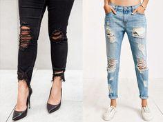 Como Desfiar Jeans – Guia fácil para customizar em casa os modelos mais desejados do momento