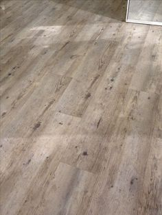 Cement floors made to look like weathered wood