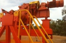 Alcaro Conveyor Belt Winder AR26T Model Build (2)
