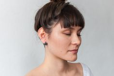 Through the View earrings by Alison Jackson / I Spy Collection Geometric Form, I Spy, Contemporary Jewellery, Jackson, Earrings, Beautiful, Collection, Geometric Fashion, Ear Rings