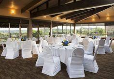 Ann Arbor Marriott Ypsilanti at Eagle Crest Club House Banquet Room Grand Ledge, Lansing Michigan, Michigan Wedding Venues, Outdoor Furniture Sets, Outdoor Decor, Ann Arbor, Indoor, Table Decorations, House