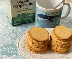 Recipe: Grain Free Tea Cookies (Paleo, SCD, GAPS) post image