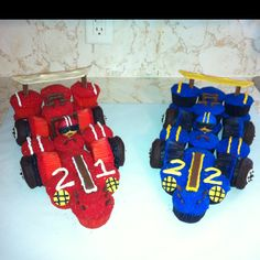 Race car cupcakes!