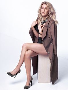 Ellie Goulding - Charlie Gray Photoshoot 2014 for The Hollywood Reporter