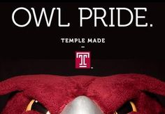 """""""Why I'm Proud to be#TempleMade"""" - The top 3 reasons I'm proud to be a Temple Owl."""