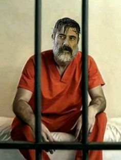 NEGAN IN HIS CELL