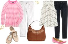 """spring outfits"" by maomi ❤ liked on Polyvore"