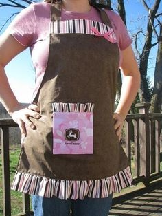 John Deere Apron.. I need someone to make this for me.