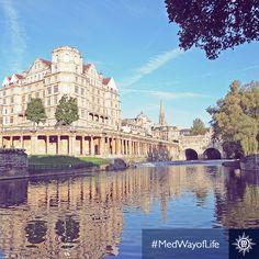 Rijk in historie, #Bath is een verborgen schat.  #MSCOrchestra #MedWayofLife