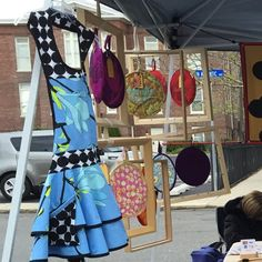 At my first local craft's fair Handmade Holidays in Collingswood, NJ. Chilly day, but great fun and met a bunch of great people!