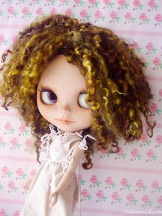 One Customized OOAK Blythe Doll CuriCuri by Dakawaiidolls on Etsy, $270.00