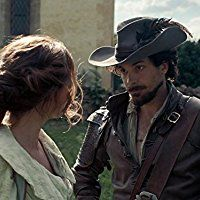 Santiago Cabrera and Amy Nuttall in The Musketeers (2014)