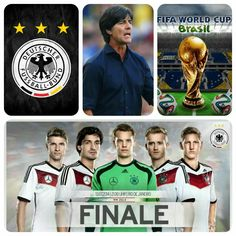 To My Dearly Germany Football Team, just like what coach Joachim Low said, stay humble... were not there yet so please please please do your very best on the finale, make it happened and win the game.!⚽