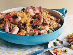 Frisky Eats One Pot Meals: One Pot Quick Paella
