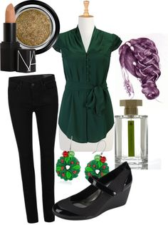 """Christmas Forest"" by angiebailey13 on Polyvore"