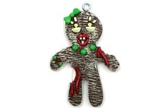 Gingerbread Zombie Mom Christmas ornament - for a Zombie inspired Christmas!