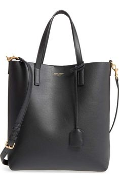 8eb4a221cf2 Saint Laurent Toy Shopping Leather Tote