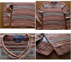 Polo Ralph Lauren Vintage Sweater Fair Isle by AdayAtLaFinca, $59.99