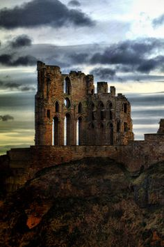 Tynemouth Castle and Priory, England