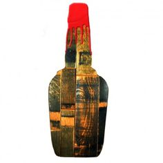 Barrel Stave Bottle Silhouette
