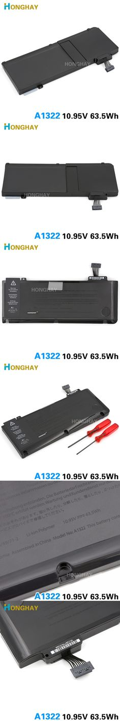 new A1322 Battery OEM for APPLE MacBook Pro A1278 MC700  mc374 MB990 MD101 MD313 Laptop batteries Free Shipping  Mid  2010 2011