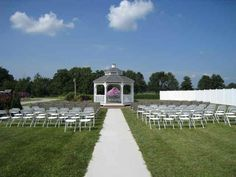 Say I do at Heartland Garden. Outdoors or inside they have it all and can help with the decor too!