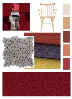 Style your home using the colour red. Colour Psychology, Red Colour, Red Interiors, Colour Inspiration, Purple, Blue, Restaurants, Environment