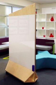Room divider & whiteboard