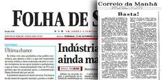 """BLOG DO IRINEU MESSIAS: A Folha deveria lembrar-se do """"Correio da Manhã"""" a..."""