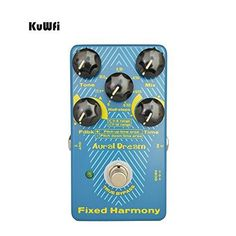 A new MUST have! KuWFi Aural Dream... check it out @ http://guitarisms.com/products/kuwfi-aural-dream-fixed-harmony-digital-effect-pedal-for-guitar?utm_campaign=social_autopilot&utm_source=pin&utm_medium=pin