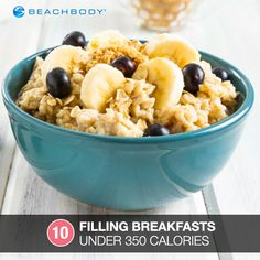 10 high-protein breakfasts under 350 calories. #recipes #TeamBeachbody