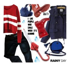 """Rainy Day Style"" by ansev ❤ liked on Polyvore featuring Hunter, Gap, Lacoste L!VE, UGG Australia, Sheinside, rainydaystyle and shein"