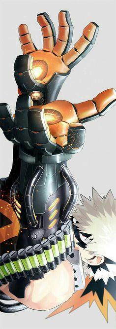 If Bakugou gets gauntlets like that... 0_0
