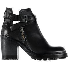 BRONX Ankle boot cut outBRONX Ankle boot cut out, black