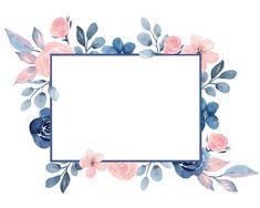 Blush & Navy wreaths and frames Border design Square frames Boarder Designs, Frame Border Design, Page Borders Design, Flower Background Wallpaper, Flower Backgrounds, Frame Background, Page Background Design, Background Templates, Navy Flowers