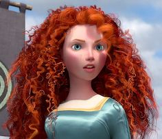 """An older version of Princess Merida. Every time I look at this I go, """"That's kind of weird...well, no. Not really. Actually, I see it now. That's actually pretty cool."""" *turn away and look back* """"That's kind of weird..."""""""
