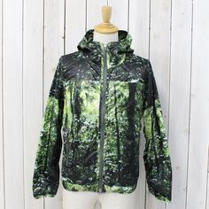 THE NORTH FACE PURPLE LABEL Forest Print Mountain Wind Parka