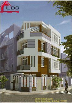 xây nhà đẹp - xây Nhà phố Anh Hội - Gò Vấp-HCM