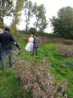 There's love amongst the thistles today at the #JorgGray TV AD shoot...