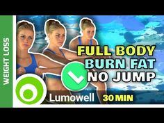 Full Body No Jumping Workout - Burn Fat At Home - YouTube