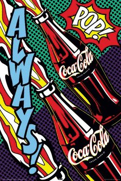 coca cola pop art - Google Search
